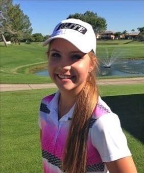 Megan Liboriio Chandler, Arizona junior golf lessons